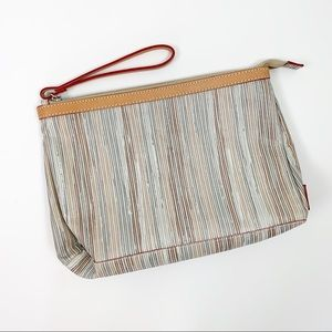 NWOT Cavalcanti Clutch Makeup Bag Made in Italy